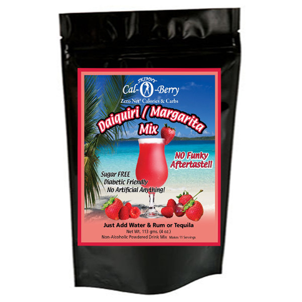 Skinny Cal-O-Berry (TM) Zero Calorie All Natural Strawberry Daiquiri   Margarita Cocktail... by Private Label