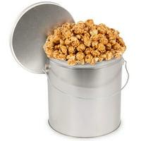 product image pink himalayan sea salt caramel popcorn tin
