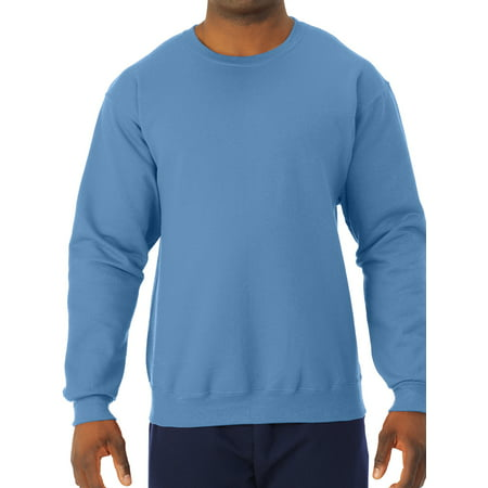 Men's Soft Medium-Weight Fleece Crewneck Sweatshirt
