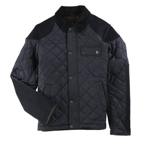 Barbour Mens Dunnotar Quilted Jacket, Blue, Small ()