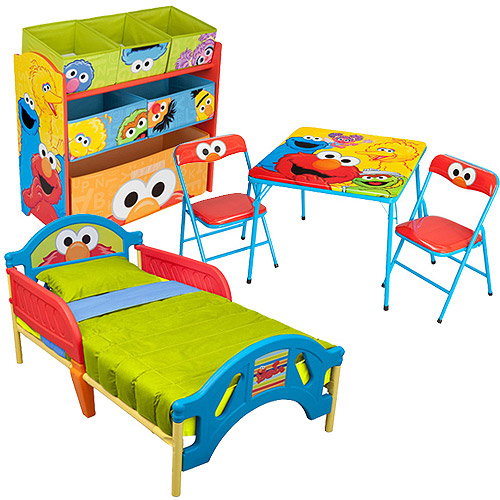 Sesame Street Elmo Room-in-a-Box