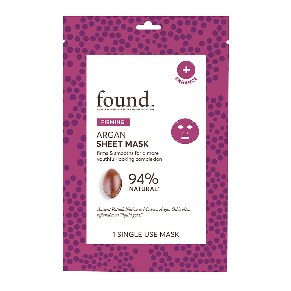 FOUND PORE CARE Charcoal Sheet Mask, 1 Single Use Mask - Walmart.com