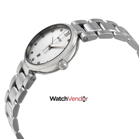 Mido Baroncelli Silver Diamond Dial Ladies Watch M022.210.11.036.00 - image 2 of 3