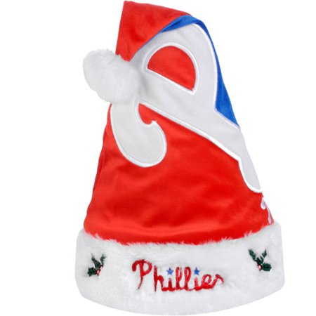 Mlb 2011 Colorblock Santa Hat  Philadelphia Phillies
