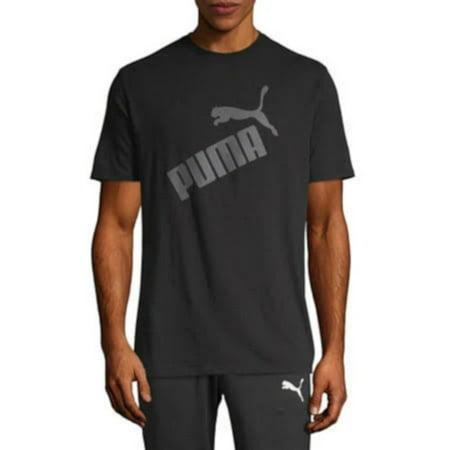 NEW Men's Puma Arrow Tee Puma Black / Castlerock Size Medium