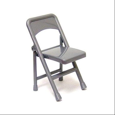 Loose Folding Chair For Wrestling Action Figures [Silver Loose]