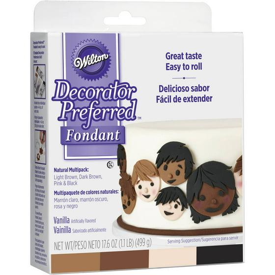 Wilton Decorator Preferred Fondant, Natural Skin Tone