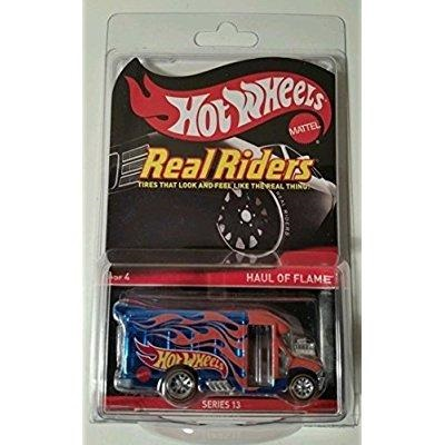 Hot Wheels Real Riders RLC Red Line Club Exclusive Haul of Flame by