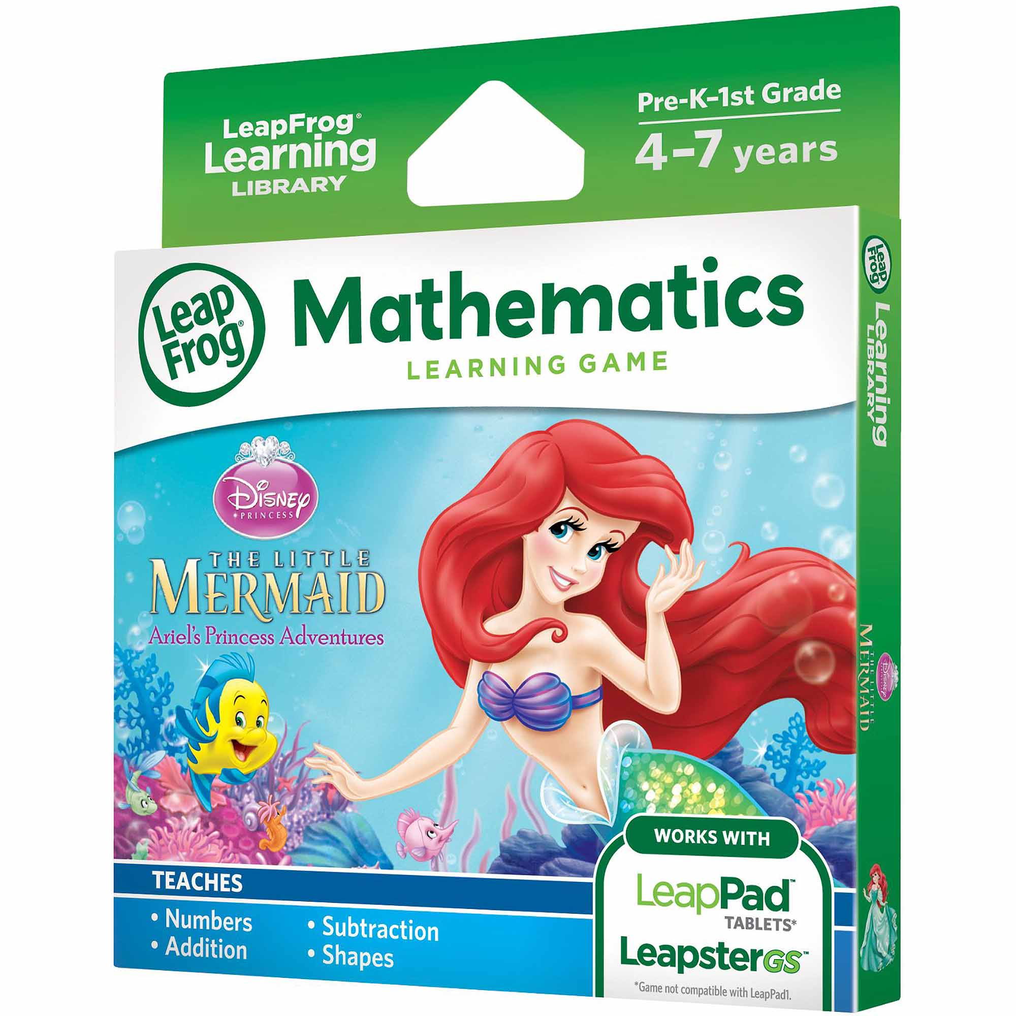 LeapFrog Disney The Little Mermaid Learning Game for LeapPad Tablets and LeapsterGS