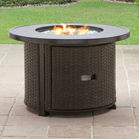 Better Homes & Gardens Colebrook 37-Inch Gas Fire Pit