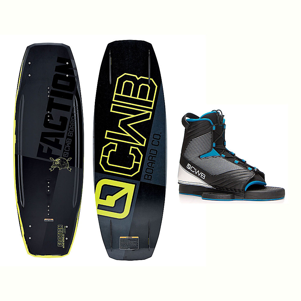 CWB Faction Blem Wakeboard With Optima Bindings 2017 by CWB