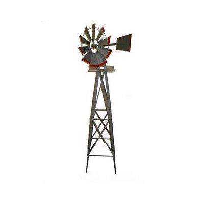 SMV Industries 48A 8' American Windmill Lawn Ornament by