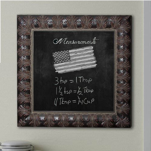 Rayne Mirrors Feathered Accent Wall Mounted Chalkboard