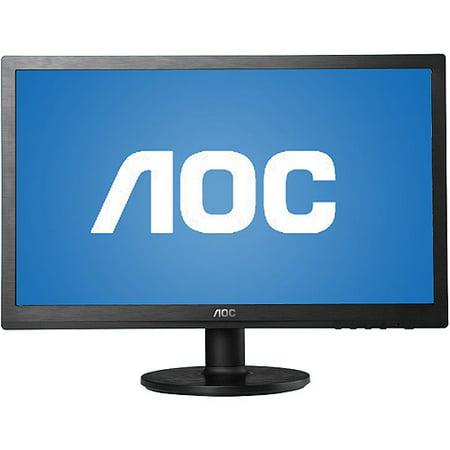 "AOC 19"" LED Widescreen Monitor (E960SRDA Black)"