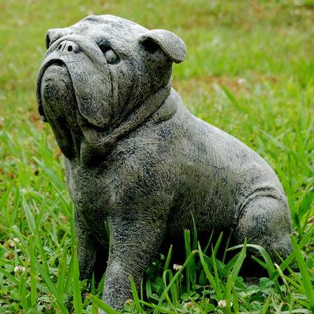 Ladybug Garden Decor Bosco Bulldog Statue