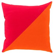 Surya Split Color Indoor/Outdoor Pillow