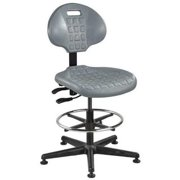"BEVCO Task Chair 21"" to 31""H, Gray, 7501 GRAY"