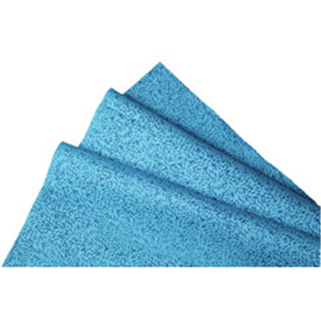 Kimberly-Clark Professional 412-33241 Kimtechprep Wipers,Blue - 9.75 x 13.4 in.