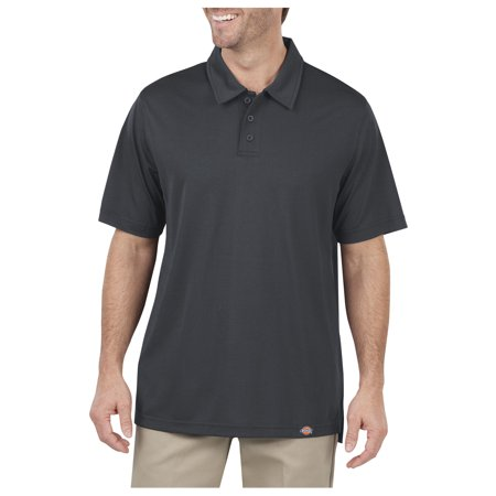Dickies Mens Industrial Work Tech Performance Ventilated Polo  Dow Charcoal   5X