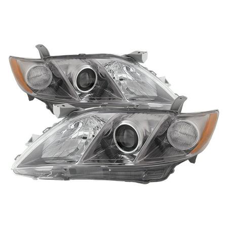 2007-2009 Toyota Camry New Headlights Set TO2518105