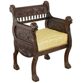 Design Toscano The Lord Raffles Lion Throne Chair Walmart Com Walmart Com