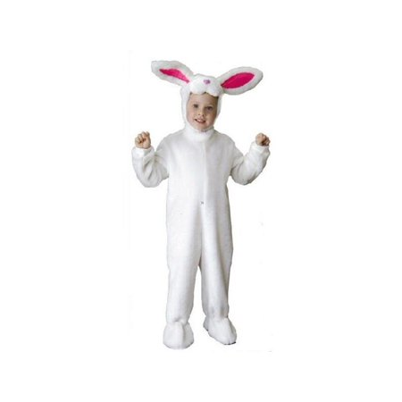 Child Deluxe White Bunny Rabbit Costume (Cat In Rabbit Costume)