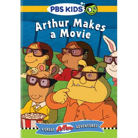 Arthur: Arthur Makes A Movie - Pbs Arthur Halloween