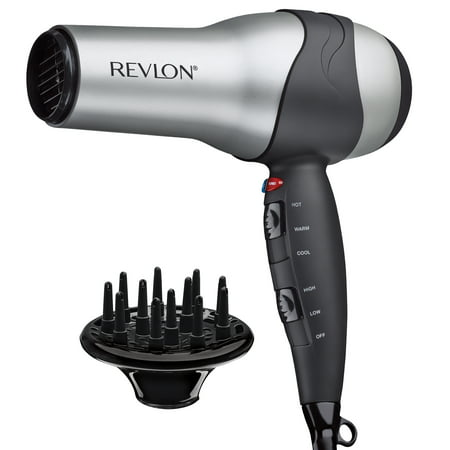 Revlon Hair Dryer 1875W Turbo Styler 3 Heat/2 Speed Settings (3 Temperatures 3 Speed Hair Dryer)