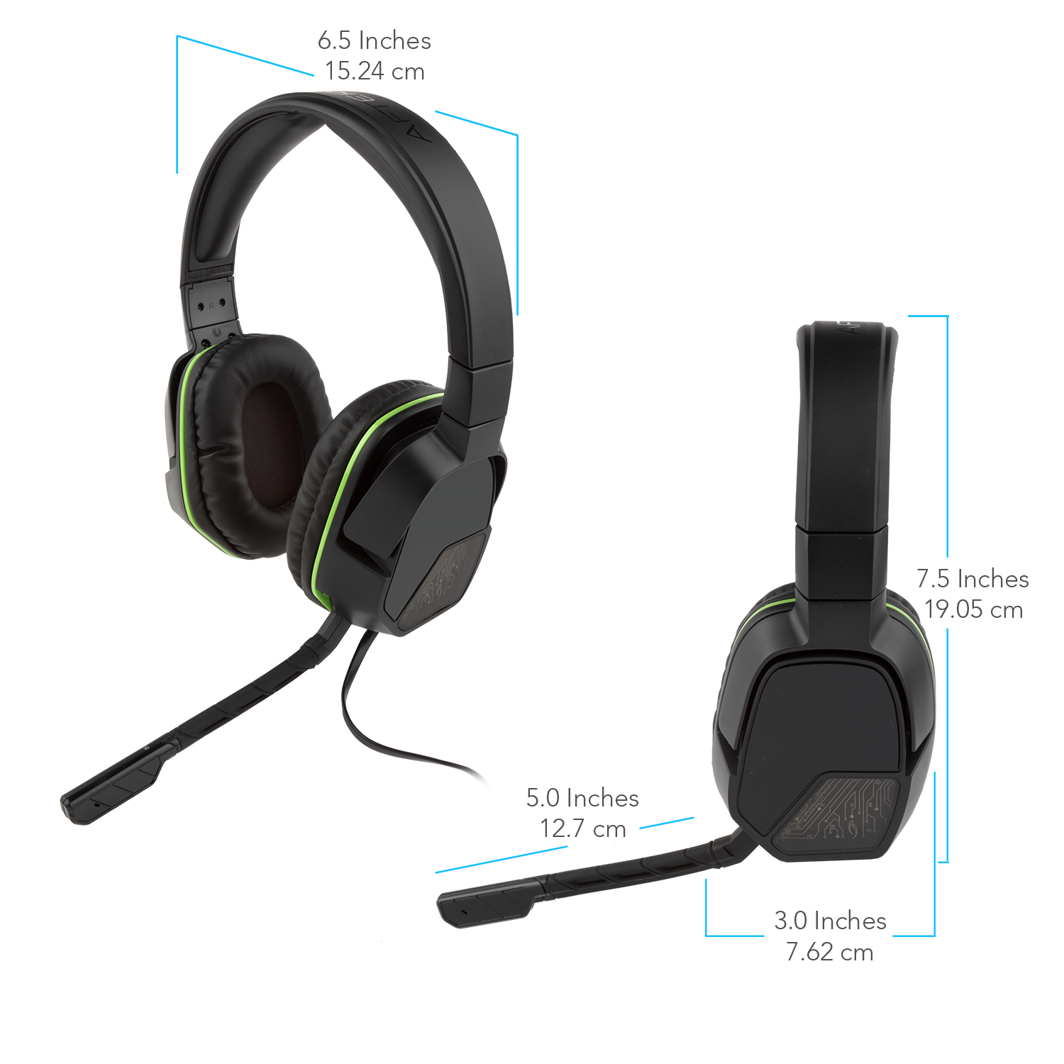 PDP Xbox One Afterglow LVL 3 Stereo Gaming Headset, Black