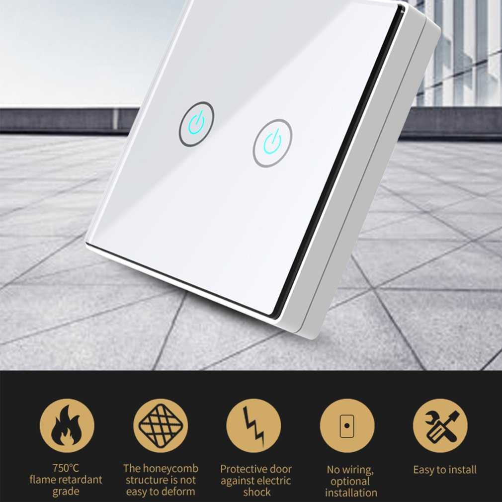 Smart Wireless Touch Switch 2 Way Remote Control Home Design And Automation Wiring
