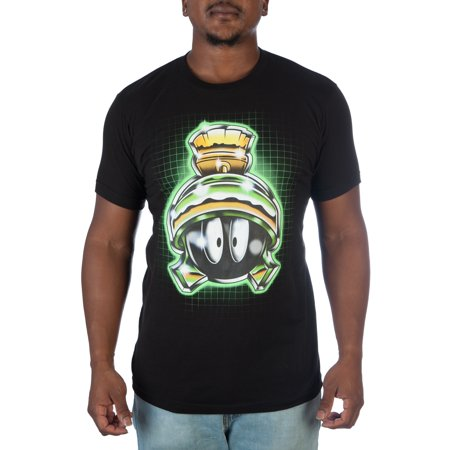 Warner Brothers Marvin The Martian Mens Tee Small