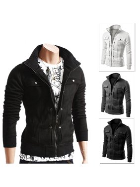 dd3100401499 Product Image Fashion Mens Jacket Warm Winter Casual Coat Overcoat Outwear  Black Military New M-16XL