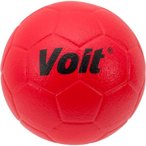 Voit Tuff-Coated Foam Soccer Ball #4, Red