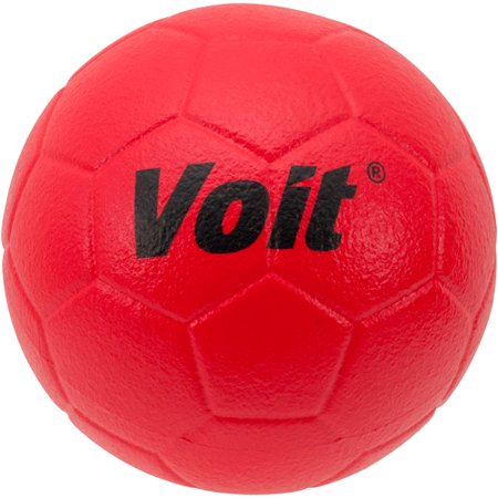 (Voit® Red Tuff-Coated Foam Soccer Ball - Size 4)