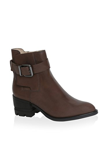 Carolina Espinosa Women's Conner Boot, Brown Leather, 10 M US by Carolina Espinosa