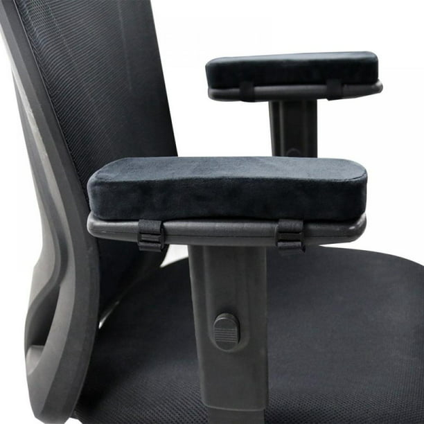 2 Pcs Ergonomic Memory Foam Office Chair Armrest Pads, Comfy