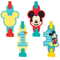 Disney Mickey Mouse 1st Birthday Blowouts