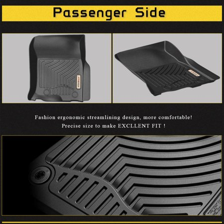 Floor Mats for 2013-2018 Toyota 4Runner/Lexus GX, Includes 1st & 2nd Row  All Weather Toyota Lexus Floor Liners
