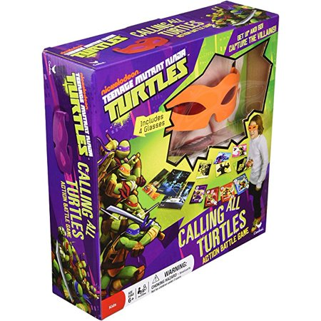Teenage Mutant Ninja Turtles Calling All Turtles Card Game ()