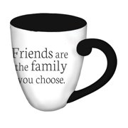 Evergreen Enterprises, Inc Classic Friends are the Family You Choose Coffee Cup