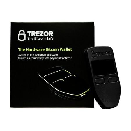 f2e27ab137 Trezor Hardware wallet vault safe for digital virtual currency Bitcoin  Litecoin