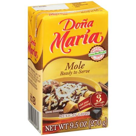 Doña Maria Mole Mexican Sauce, 9.5 oz