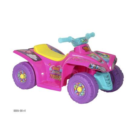Custom For Kids (6V Trolls Kids Quad Ride On Toy For Kids with Custom Trolls)