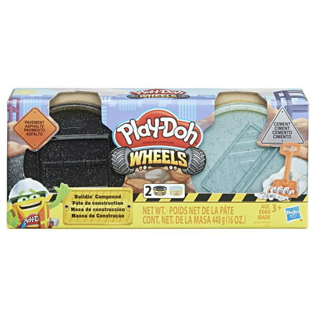 Halloween Play Doh Pack (Play-Doh Wheels Pavement & Cement Dough 2-Pack,)