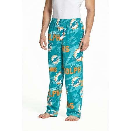 NFL Miami Dolphins Primetime Men's AOP Fleece Pant](Miami Dophins)