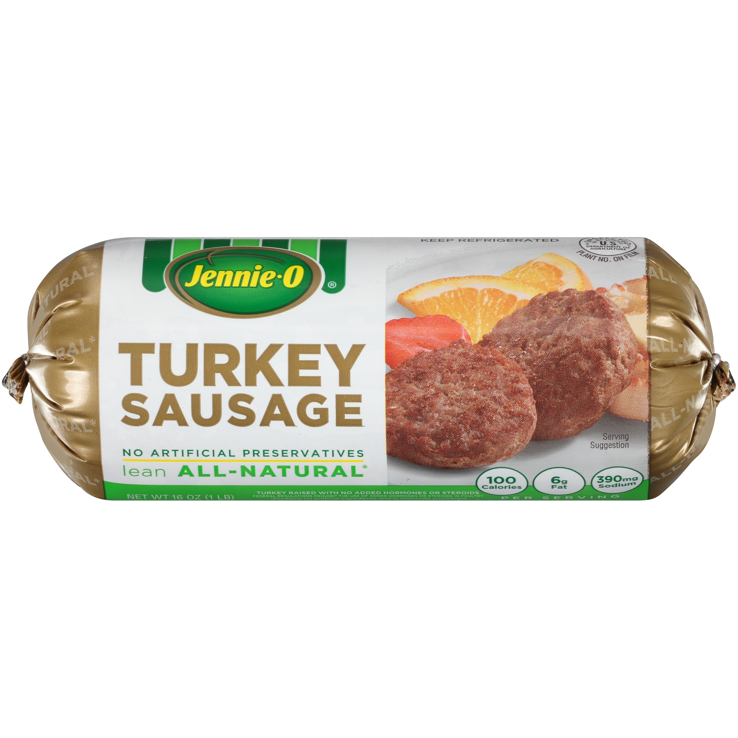 Jennie-O® Lean Turkey Sausage 16 oz. Pack