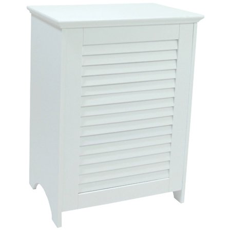 Contemporary Country Louvered Front (Contemporary Country Wood Hamper)