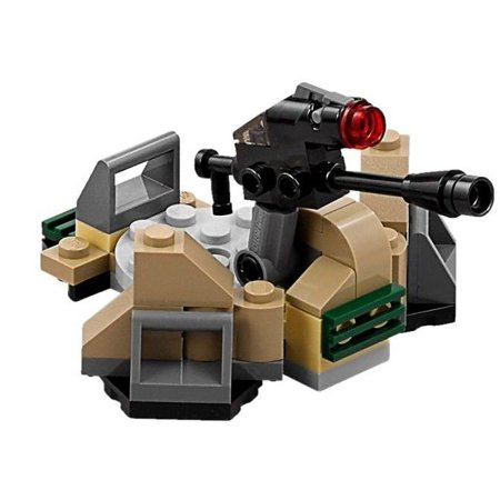 Trench Set - LEGO Star Wars Terrain Sets Trench Section with Multidirectional Laser Cannon [No Packaging]