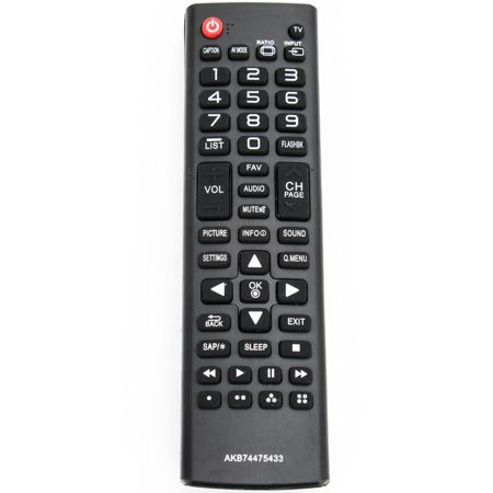 New AKB74475433 Replaced Remote Control compatible with LG TV AKB74475455 42LF5600 50LF6000 65UF6700 49UF6700 ()