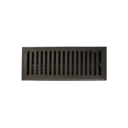 Oil Rubbed Bronze Plated Floor Register Vent Cover This On Opens A Dialog That Displays Additional Images For Product With The Option To